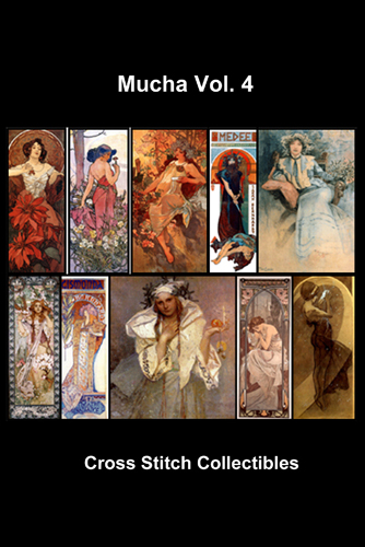 Mucha Vol. 2 Cross Stitch DVD by Cross Stitch Collectibles