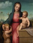Madonna & Child with St. John the Baptist
