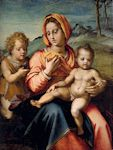 Madonna & Child w/Infant St. John