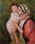 Mother and Child, 1914 cross stitch pattern
