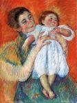 The Barefoot Child, 1897 cross stitch pattern