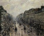 Blvd. Montmarte, Foggy Morning cross stitch pattern