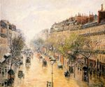 Blvd. Montmarte, Spring Rain cross stitch pattern