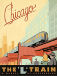 Chicago cross stitch pattern