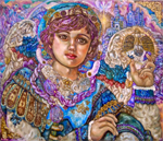 Download Archangel Jibeel cross stitch pattern