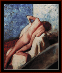 After the Bath, 1896 cross stitch pattern