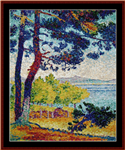 Afternoon in Pardigon (small) cross stitch pattern
