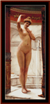 A Pompeiian Bath cross stitch pattern