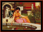 A Lily Pond, 1917 cross stitch pattern